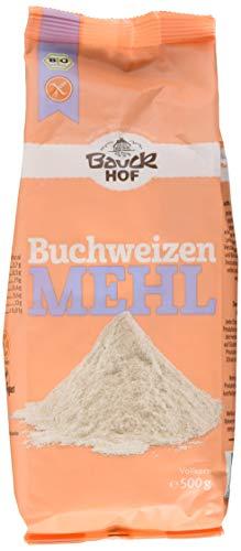 Bauck HOF Buchweizenmehl Vollkorn, 3er Pack (3 x 500 g)