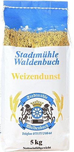 Stadtmühle Waldenbuch Weizendunst 5 kg feinste Bäckerqualität (Spätzlemehl)