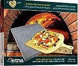 MAAJ LAVASTEIN PIZZASTEIN PIZZABRETT PIZZA WIE IN ITALIEN AUCH FÜR FLEISCH UND GEMÜSE ÄTNAVULKANGESTEIN