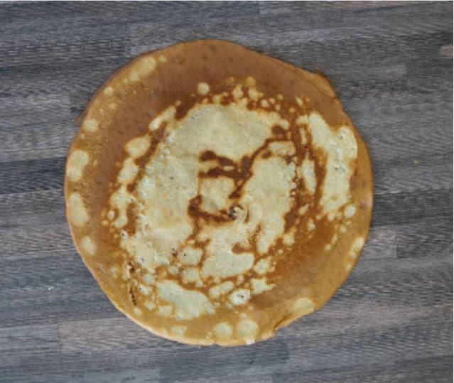 Crêpes aus der WMF Pfanne