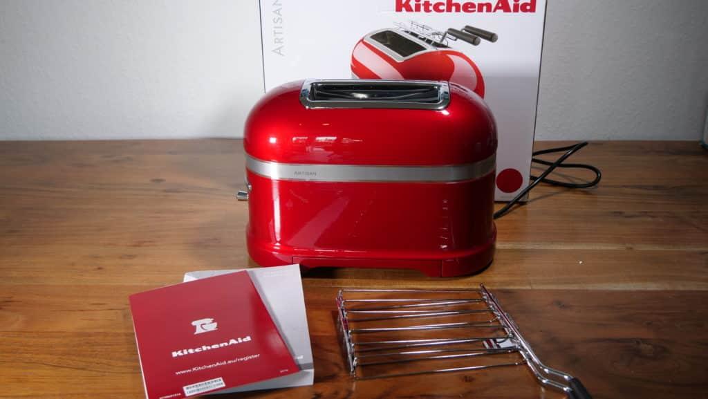 KitchenAid Artisan Toaster Liebesrot