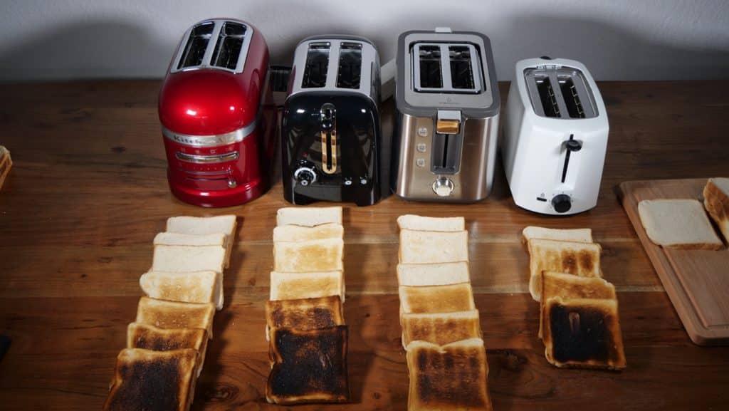 Toaststufen vergleich